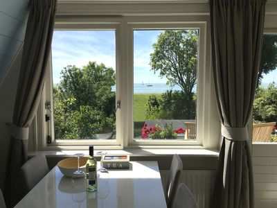 Photo for holiday apartment 2-4 pers. with beautiful views over the IJsselmeer
