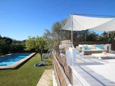 Photo for Fabulous Finca with private garden and pool near Pollensa and the sea