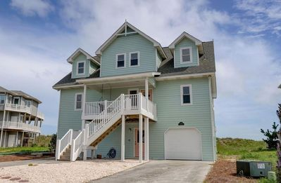 Photo for The Great Escape: 3BR/3.5BA house, North Topsail Beach, Sleeps 11, Pool & Tennis