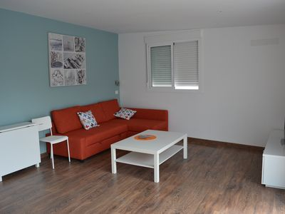 Photo for Modern penthouse with large terrace and two bedrooms, ideal families-groups friends