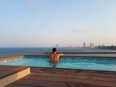 Photo for PENT HOUSE WITH EXCLUSIVE USE POOL, VIEW TO THE SEA AND RIVER