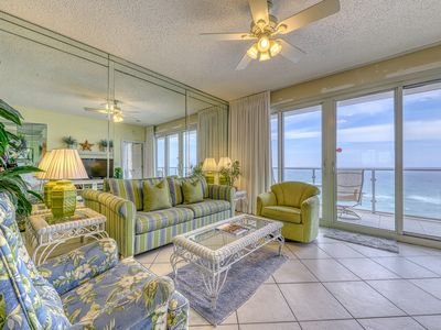 Photo for Vibrant condo on the Gulf w/ a community pool, fitness room, & playground!