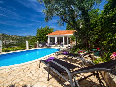 Photo for Villa Green Paradise with heated pool,football/tennis playground,Gym with sauna