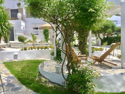 Photo for ALMYRIDA SANDS-OMEGA, 100 m from the beach on foot, sea view