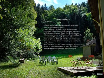 """Photo for Cottage """"Au murmure de l'hers"""" for 8 to 10 people"""