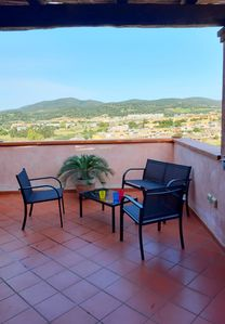 Photo for Panoramic penthouse for 4 people in Villasimius