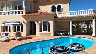 Photo for Holiday house Calpe Maryvilla with pool for 6 persons with a fantastic sea view