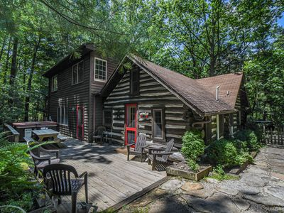 Photo for Beautifully Warm & Inviting Log Home Bursting with Character!