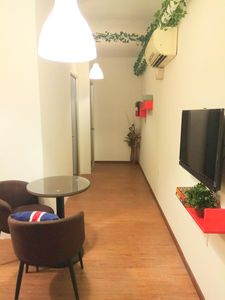Photo for Sek.16 condo. Fully aircond. Beside KTM station, with hypermart & laundry below