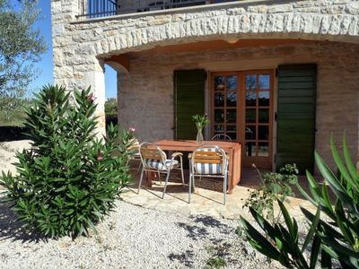 Photo for Stone cottage in tranquil village location, 5km from Porec