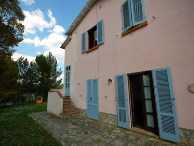 Photo for country house with pool and superb views of the vineyards