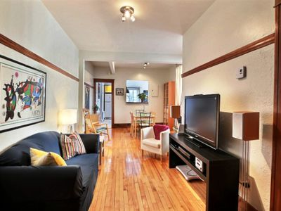 Photo for #128 Beautiful Renovated Furnished Apt in MTL