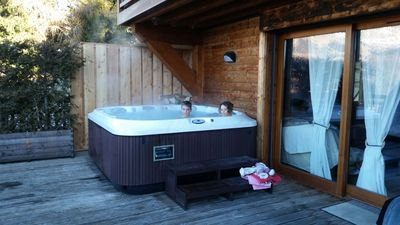 Photo for APART- CHALET Very good quality (6-8 pers) Jacuzzi- GrandeTerrasse Chimney