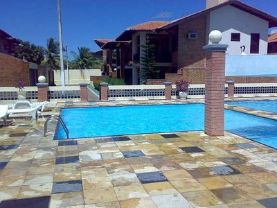 Photo for Big vacation house with shared pool, sportsfield and safe area close to beach.