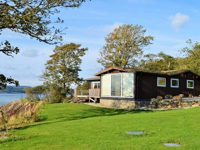 Photo for Shore front location on private beach, Loch Fyne,Agyll. Sleeps 6