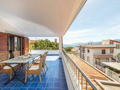 Photo for PENTHOUSE SEA: delightful penthouse with a central sea view