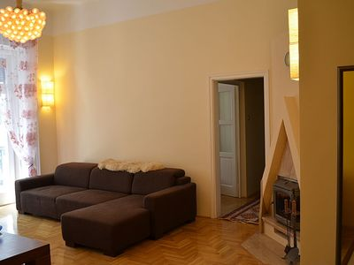 Photo for Stunning 3 Bedroom Apartment In the Heart of Budapest