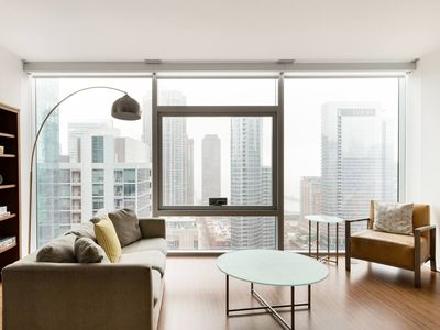 Photo for Commodious Sky Loft at Navy Pier