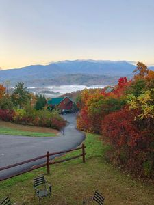 Fall in the Smoky Mountains from the upper deck