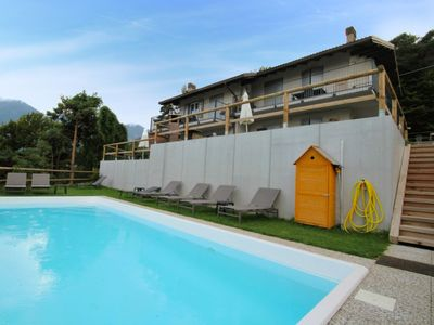 Photo for Apartment in Val Maria-pur with Parking, Internet, Washing machine, Pool (970758)