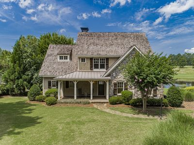 Photo for Lake Oconee House 4 BR 3.5 bath inside Cuscowilla, a Private Golf Community