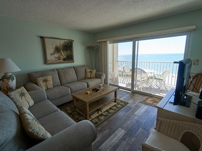 Photo for 5th Floor 3 Bedroom Gulf Front directly across from John's Pass