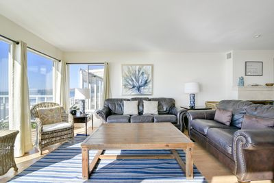 You`ll have amazing views from every seat in the living room