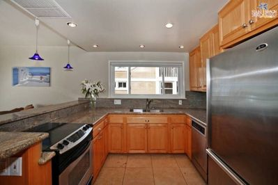 Fully upgraded stainless steal, GE Profile Kitchen San Diego Beach House Rental