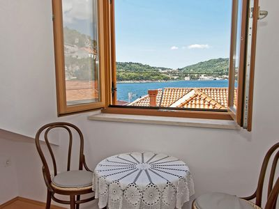 Photo for Beach front Blue apartment at Villa