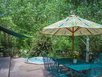 Photo for The Riverside Hacienda In Downtown Salida!Riverfront.Private Courtyard & Hot tub