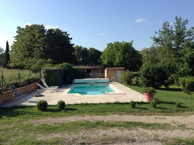 Photo for In the heart of Provence independent studio of 25m2 with views of the hills