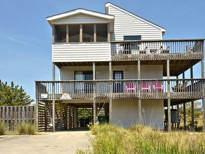 Photo for Just 300 Feet to Beach, 4 BRs, Ocean and Lighthouse Views, Dog Friendly