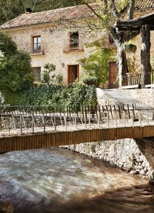 Photo for Beautiful Country House over a River, ideal for families, nature and pure calm