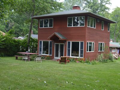 Photo for **SPRING DISCOUNT!** (See description) Updated Lake House with Private Beach!