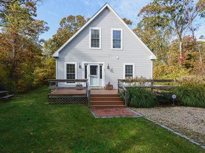 Photo for Newly Renovated! Walk to Town Oak Bluffs, 4 Bedroom/3 Bath A/C. Ferry tix!