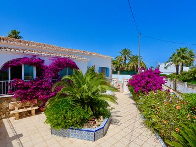 "Photo for Beach-front Mediterranean house in Calpe - ""Calalga"""