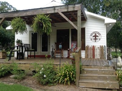 Photo for 1BR Cottage Vacation Rental in Abbeville, Louisiana