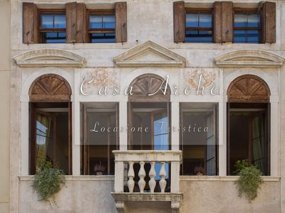 Photo for Archè house. Bright apartment in the historic center of the ancient city of Feltre