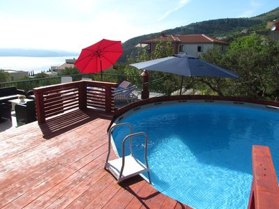 Photo for Holiday apartment with mounting Pool