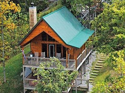 Photo for Emerald View Retreat - Amazing Smoky Mountain VIEWS from hot tub and decks