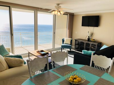 Photo for Luxurious 3 Bed/3.5 Bath Ocean Front Condo. Sleeps 13! Emerald Beach Resort