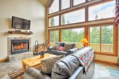 Make yourself at home at this Fairplay vacation rental!