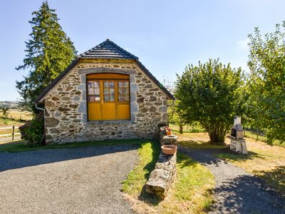 Photo for Former farmhouse fully renovated with garden, near the Auvergne volcanoes