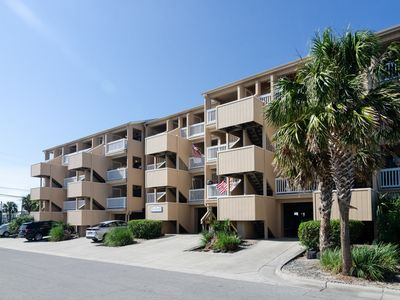 Photo for An alluring, newly renovated, one bedroom condo just moments from the beach!