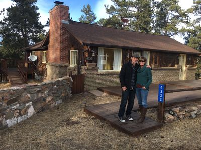 Photo for Peaceful Mountain Getaway close to Red Rocks and Denver