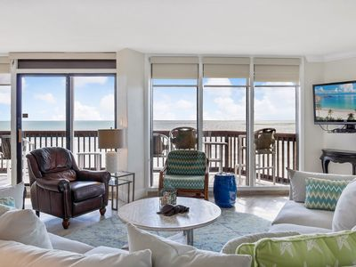 Photo for Sandpiper #605: Beachfront 3 Bedroom 2.5 Bathroom With Spectacular Views and 24 Hour Management