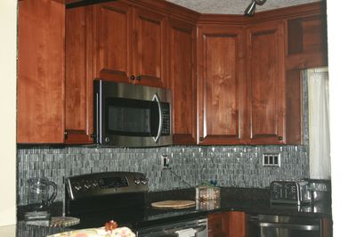 Custom kitchen with all the amenities you should need!