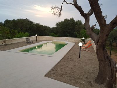 Photo for Villa with swimming pool surrounded by olive trees, just minutes from the sea