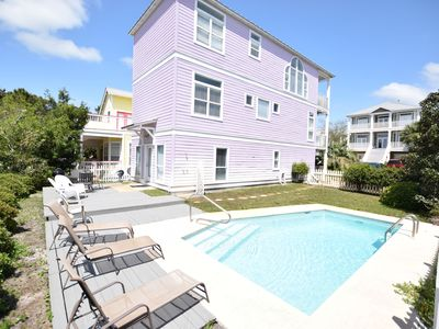 Photo for Calypso Cottage **Easy Beach Access ~No Busy Streets to Cross! ~Private Pool!