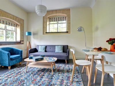 Photo for The Larder is one of three cottages for couples situated around the communal space of a covered atri